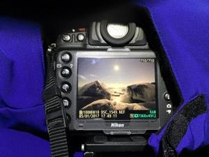 Back of DSLR in a Camera Parka. Photo: Tero Marin.